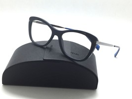 Prada New VPR09R TFM-1O1 Blue Gunmetal 53mm Frames Eyeglasses - $96.97