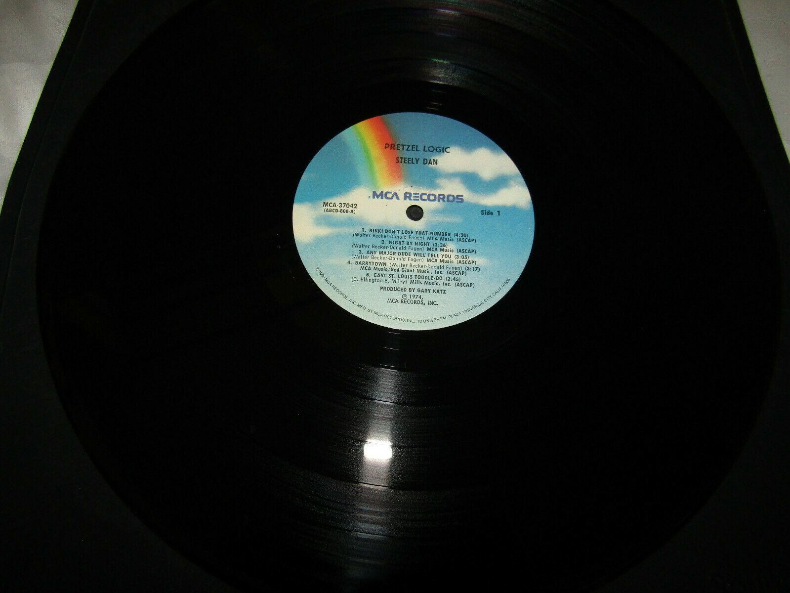 Steely Dan Pretzel Logic MCA MCA-37042 Stereo Vinyl Record LP image 3