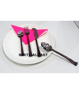 Al- Nurayn Handmade Antique Cutlery Set Of 2 By NauticalMart - $69.00