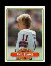 1980 Topps #225 Phil Simms Rc Ex *A20594 - $4.95