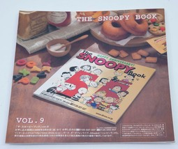 The Snoopy Book Japanese Peanuts Shopper's Selection Catalog Charlie Brown Linus - $11.88