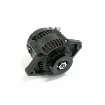 Mini Race Alternator Denso Style High Amperage 90 Amp Black Finish