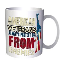 My American Veteran Hero Soldier USA 11oz Mug z956 - $11.98