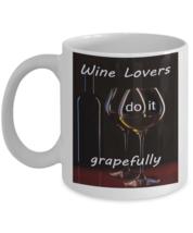 Funny Wine lover Coffee Mug White 11oz - $14.92