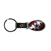 Non Metal Nfl Dallas Cowboys Accent Key Ring By Rico Industries (Length=1.25) [G - $12.32
