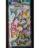 Dog Shape Stretch Bands Bandit-O Rubber Bracelets 12-pc NEW - $3.99