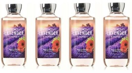 Bath&Body Works Francés Lavanda Miel Gel de Ducha Cuerpo Lavado 296ml ~ ... - $29.50