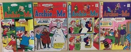 ARCHIE AND ME lot of (4) issues, as shown (1970-1975) Archie Comics G/VG - $9.89