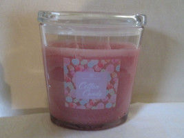 Colonial Candle 22 oz Jar COTTON CANDY Oval w/ lid 2 wick - $38.99