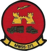 USMC MWSS-371 Marine Wing Service Squadron Sand Sharks Patch - $11.87