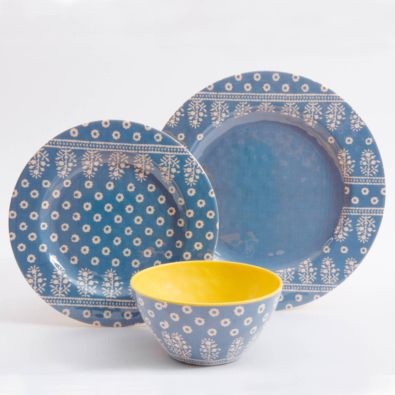 Summer Yellow Blue Dinnerware Dinner Kitchen and 50 similar items