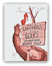 Saint Louis Cardinals 1956 Football Program Poster - FREE Shipping - $9.99