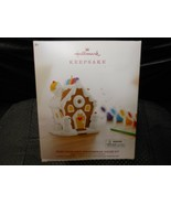"Hallmark Keepsake ""Paint Your Own Gingerbread House Kit"" 2019 Ornament NEW  - $21.73"