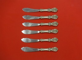 Francis I by Reed and Barton Sterling Silver Trout Knife Set HHWS 6pc Custom  - $489.00