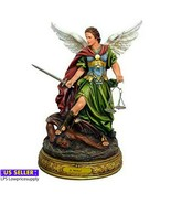 """STATUE 24"""" ST MICHAEL WITH BALANCE/SCALES - $128.65"""
