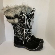 Muk Luks Women's Gwen Snow Boots  Black Size: 11 - $80.41