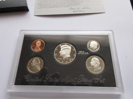 1993 , United States Mint , Silver Proof Set - $30.00
