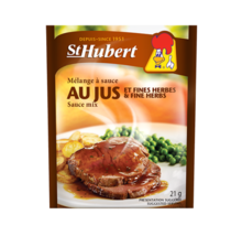 BIG 24 PACK St Hubert Au Jus & Fine Herbs Sauce Mix 21g FRESH AND DELICI... - $54.20