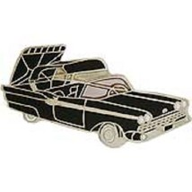 Ford Retractable 1958 Black Car Emblem Pin Pinback - $7.91