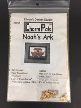 Noahs Ark Quilting Pattern Wall Hanging Charm Pals Baby Nursery Eileens Design - $5.89