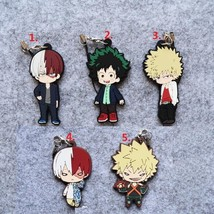 Anime My Hero Academia Boku no Hero Akademia Keychain Rubber Strap Charm Bakugo - $6.91+