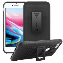 Holster Combo Case With Stand and Swivel Clip for Apple iPhone 8 Plus 7+... - $160,06 MXN
