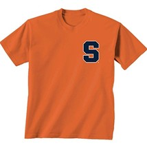 NCAA Syracuse Orange Team Madras Short Sleeve, Cc Mango, Large - $18.95