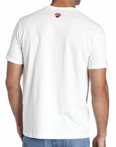 NEW NWT PUMA MEN'S PREMIUM AUTHENTIC DUCATI BIG LOGO F1 TEAM T-SHIRT TEE WHITE image 2