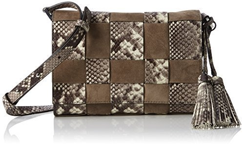 f314fbe88137 51adggvmczl. sl1500. 51adggvmczl. sl1500. Michael Kors Vivian Medium  Messenger Embossed python leather ...