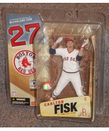 2006 McFarlane Cooperstown Collection Boston Red Sox Carlton Fisk Figure... - $27.99