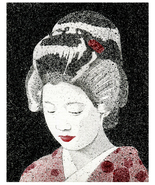 Geisha in Red - $18.00+