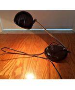 Black Mid Century Modern MCM Tensor Eyeball Portable Desk Task Lamp + Li... - $99.99