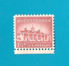 Scott  #1032 Mount Vernon 1 1/2 cent Mint Never Hinged U.S. Postage Stamp - $1.99
