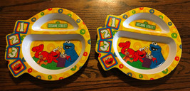The First Years Sesame Street Melaminie Plates - 2 - $7.50