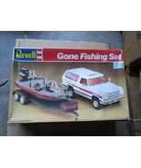 Revell Gone Fishing Set 1/25 scale Dodge Ramcharger & Ranger Bass Boat - $79.99