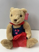 "Godiva Plush Bear 10"" Stuffed Animal Toy No Chocolate w Tag Hearts 2021 - $39.59"