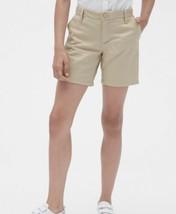 Gap Kids Khaki Wicker Casual Or Uniform Midi Shorts Size 6 - $6.93