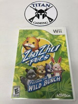 Zhu Zhu Pets: Featuring the Wild Bunch (Nintendo Wii, 2010) - $6.65