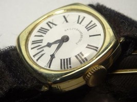 Antique 1920s Longines 14K Gold Ladys Roman Watch for Bailey,Banks & Bid... - $837.54