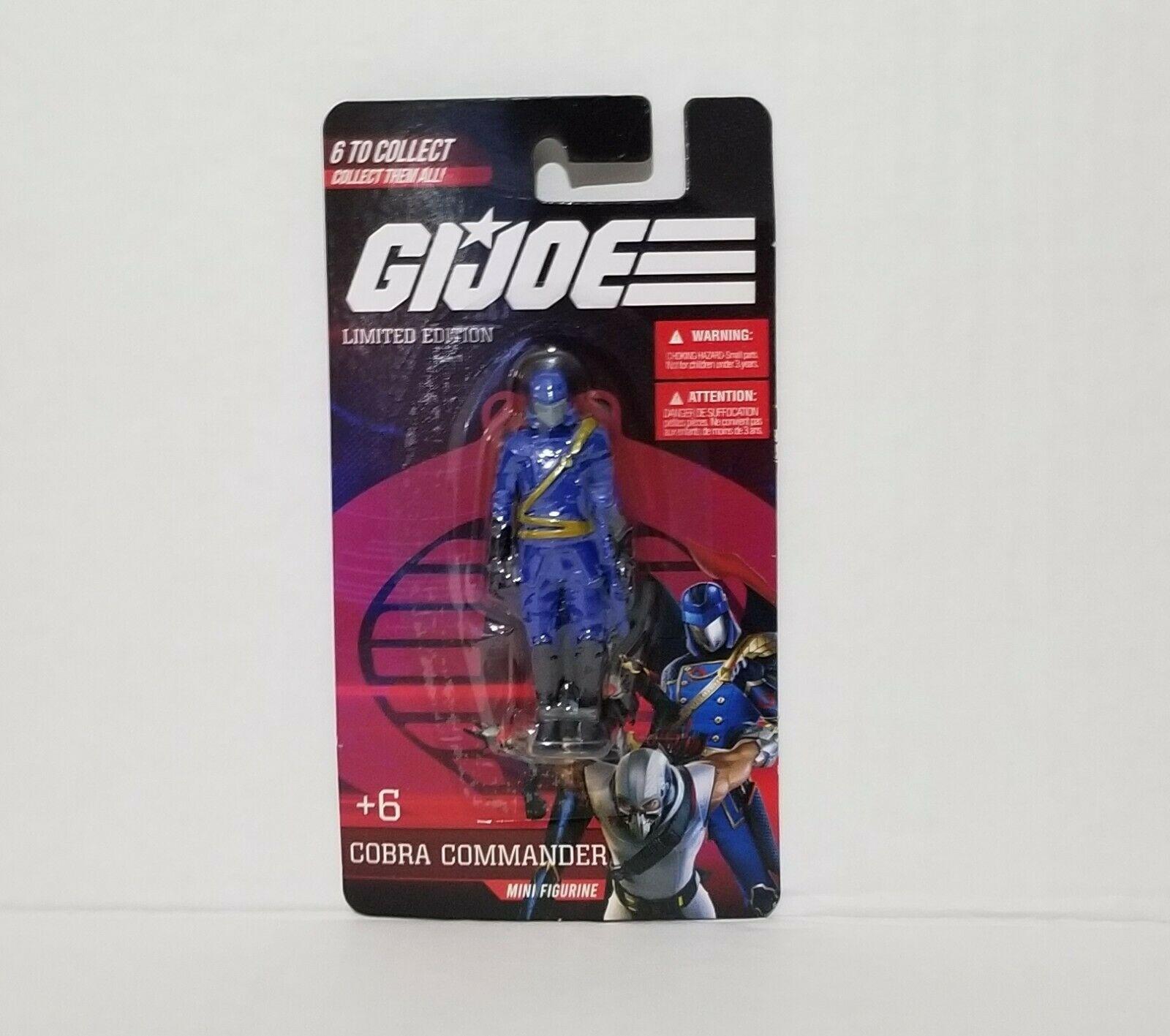 G.I. Joe Limited Edition 2021 Mini Figurine -  Collect Them All!!