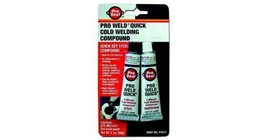 Pro Seal Pro Weld Quick Cold Welding Compound - Quick Set Steel 56g - 64605 - $8.90