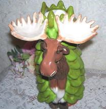 Moose Vase By Blue Sky Brawnson  A Rare Find - £29.69 GBP
