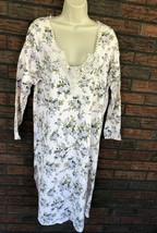 Victoria's Secret Vintage Gold Label Gown Medium Country Floral Lace Cro... - $28.22