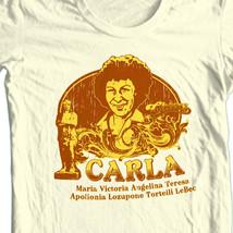 Cheers Carla T-shirt Free Shipping cotton retro 1980's TV Land  Boston CBS943 image 1