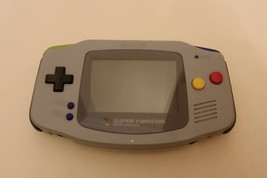 Backlit AGS-101 Modded Nintendo GBA Game Boy Advance   - $148.50