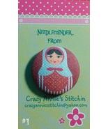 Matryoshka #1 Needleminder fabric cross stitch ... - $7.00