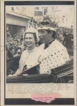 Photo Prince Wales Royalty Mother Queen Elizabeth Caernarvon Royalty 8x10 - $18.55