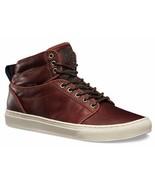 VANS Alomar + (Leather) Henna Brown Skate Shoes MEN'S 6.5 WOMEN'S 8 - $49.95