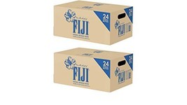 Fiji Natural Artesian Water, 16.9 Fl Oz Pack of 24 Bottles 2 Boxes, 24 Pack, 500
