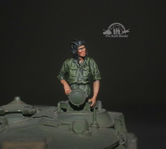 NVA Tank crew Vietnam war 1:35 Pro Built Model #1 - $29.50